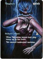Magic Card Alteration: Treachery 3-5-14 by Ondal-the-Fool
