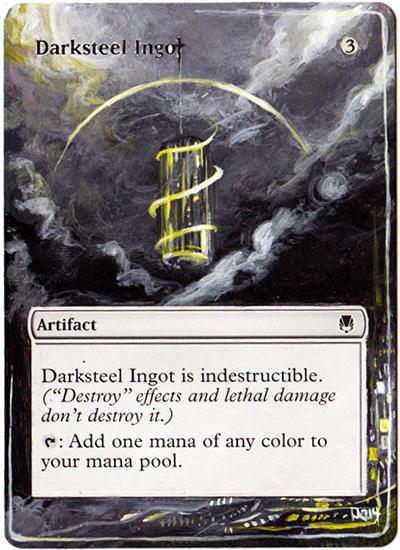 Darksteel Ingot FoilNMArena League PromosMagic MTG