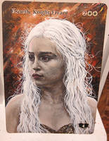 Magic Card Alteration: Daenerys Elspeth by Ondal-the-Fool