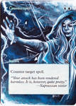 Magic Card Alteration: Counterspell 4-29