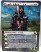 Magic Alteration: Elspeth, Knight Errant 12/6/14 by Ondal-the-Fool