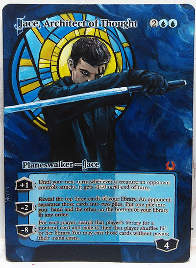 Magic Alteration Jace  Jace Architect Of Thought Altered
