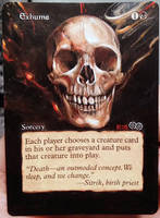Magic Alteration: Exhume 5/5/15 by Ondal-the-Fool