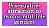 Bisexuality is not... or is pansexuality?