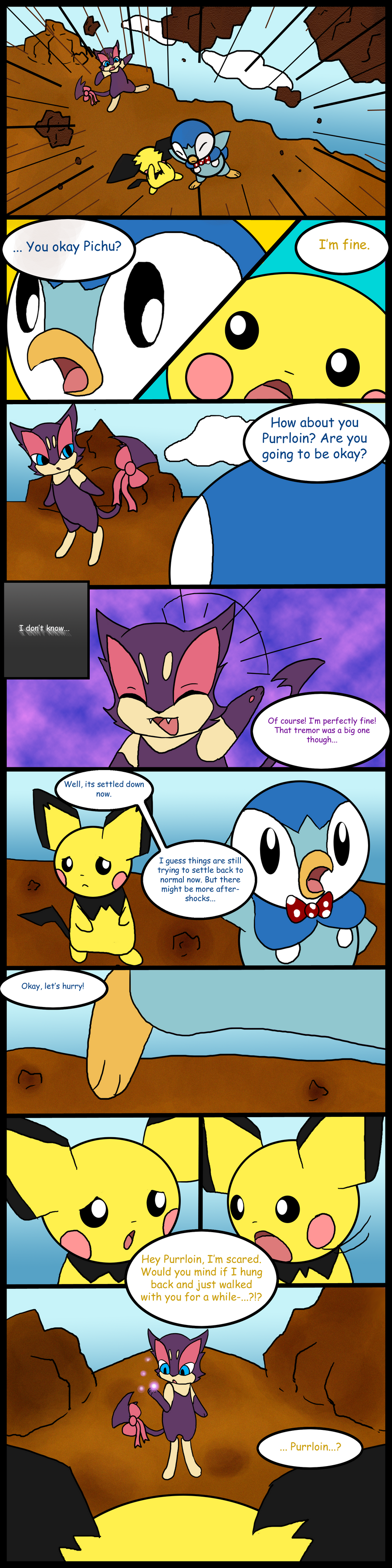 Pokemon Mystery Dungeon Ending Page2 By Myatathecupcake On