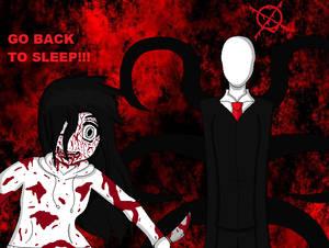 Jeff the Killer and Slenderman