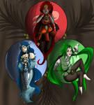::.G.P/F.A::The Three Goddesses.::