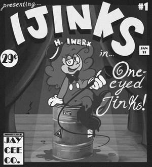 ART TRADE: She's Ijinks! Issue #1