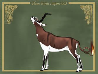 Plain Kirin Import 003 by LiaLithiumTM