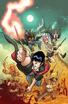 Fanboys VS Zombies #11 Cover