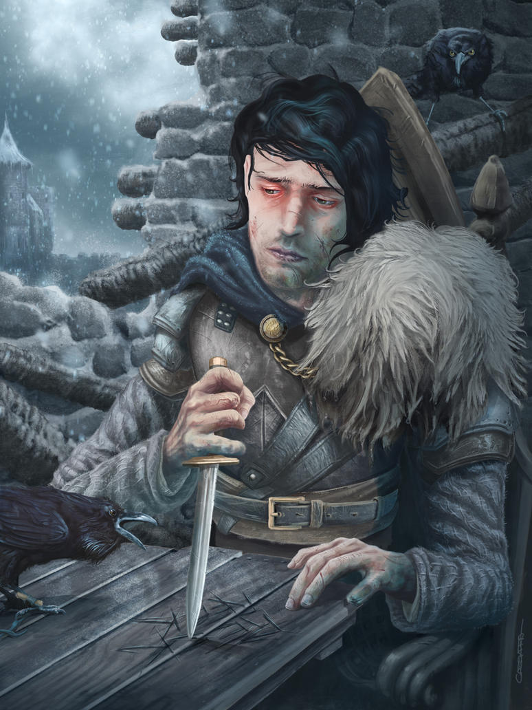 The Prince of Winterfell by Gabriel-Cassata