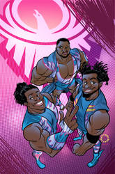 WWE - New Day Cover by Gabriel-Cassata