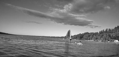 Saillboat by Montaurus