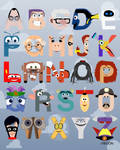 P is for Pixar Alphabet
