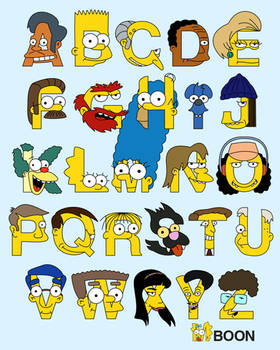 S is for Simpsons Alphabet