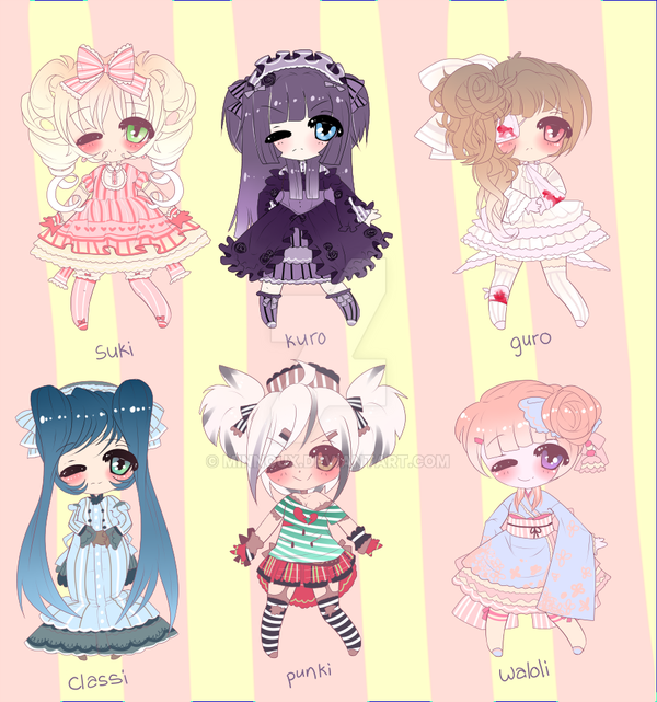 LOLITA ADOPTABLES by Lolisoup