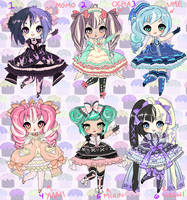 DREAMY LOLITA ADOPTABLES closed by minnoux