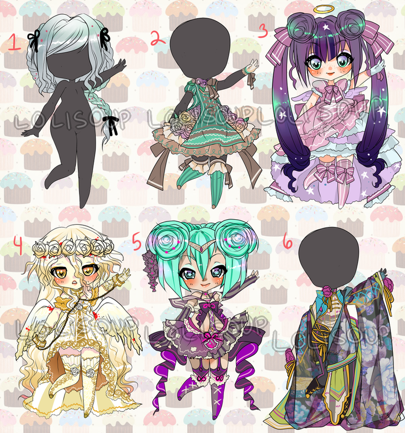 CUSTOM ADOPTS XVII by Lolisoup