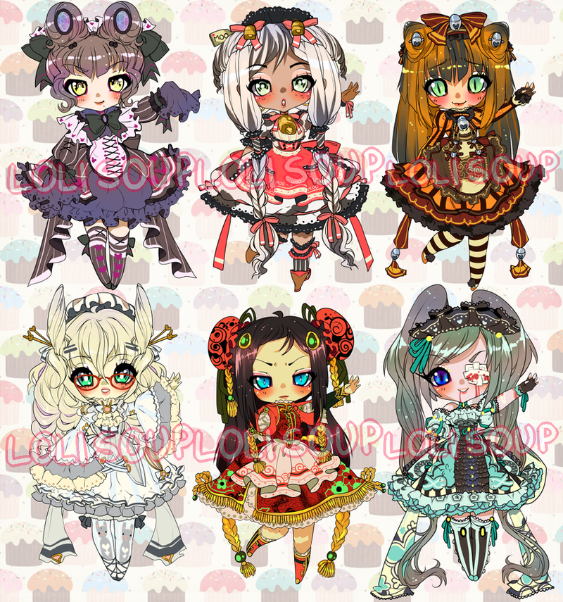 ZODIAC ADOPTABLE AUCTION by Lolisoup