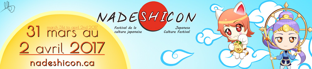 Website Banner Nadeshicon 2017 by minnoux