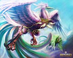 Devacurse : Heaven Swans by rusharil