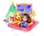Secret santa 2014 by rusharil