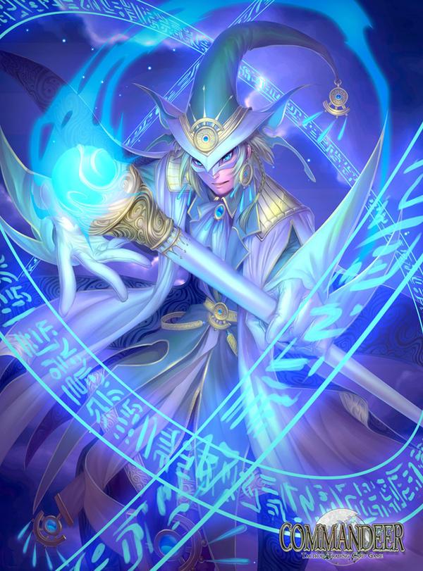Arcadia Runecaster by rusharil