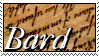 Bard Stamp. by WarGoddessEnyo