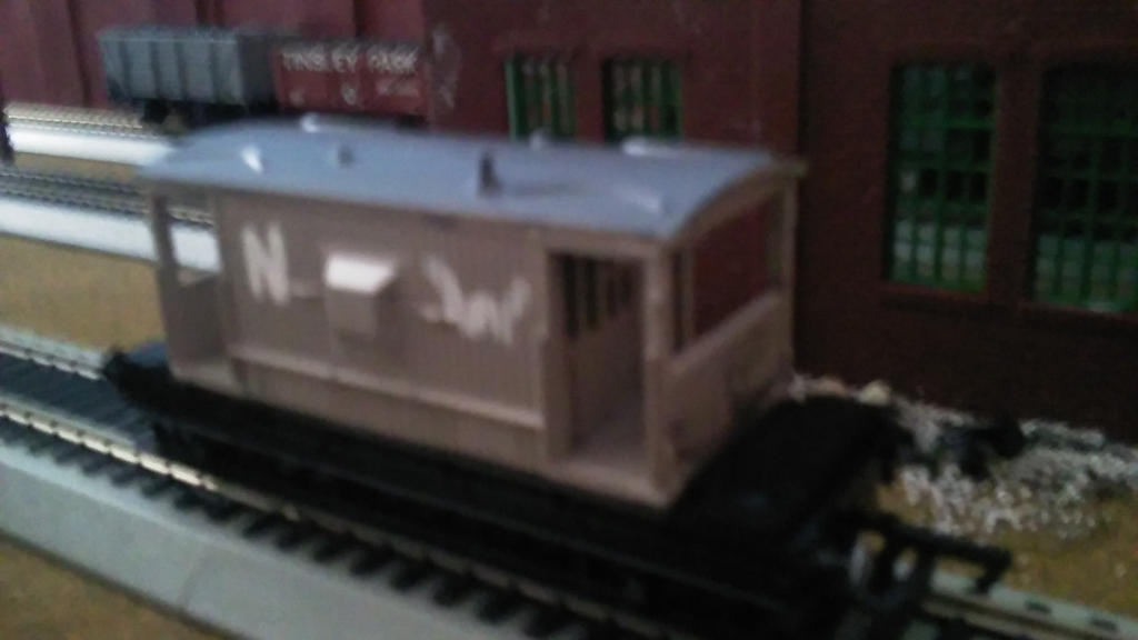 My RWS Spiteful breakvan custom by TheRailwayMan1997
