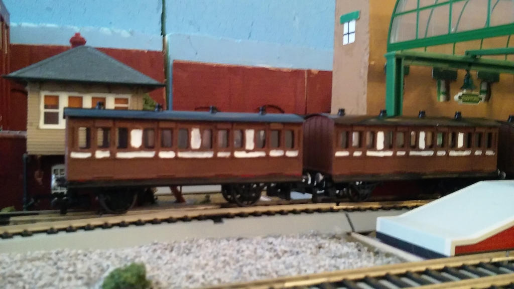 Bachmann Branchline Coaches customs. by TheRailwayMan1997