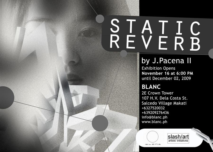 Static Reverb Invitation by JPacena