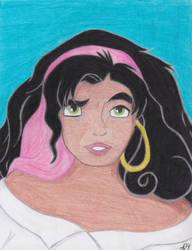 Esmeralda by AmsAwsomeArt