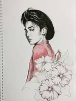 G-Dragon. Hollyhock. Ambition.  by Maneca
