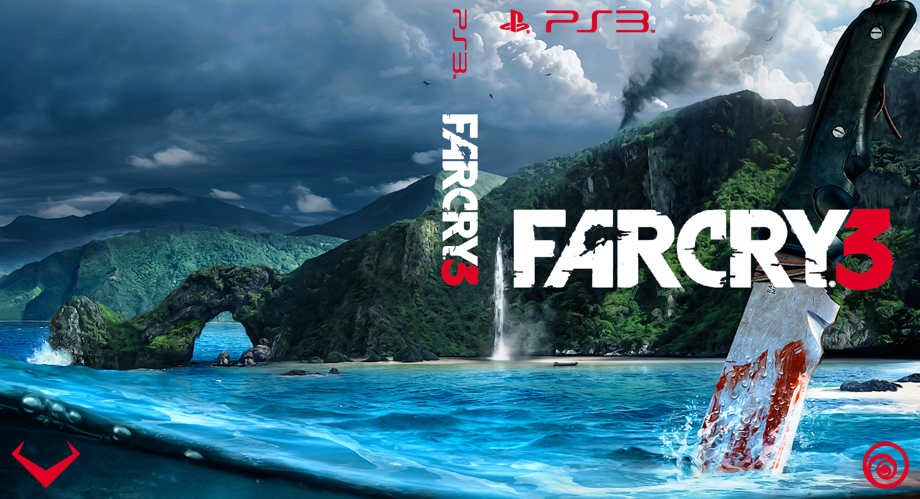 farcry 3 box art ps3 by rlbdesigns on deviantart