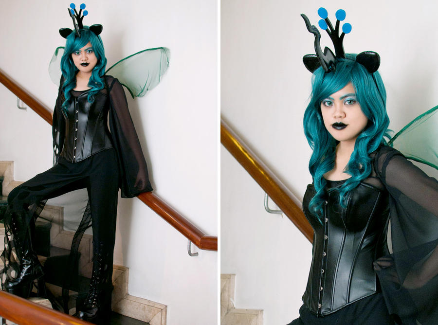 My Little Pony: Queen Chrysalis by patdes