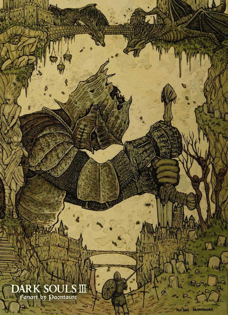 Dark Souls III Fanart by May-Paontaure