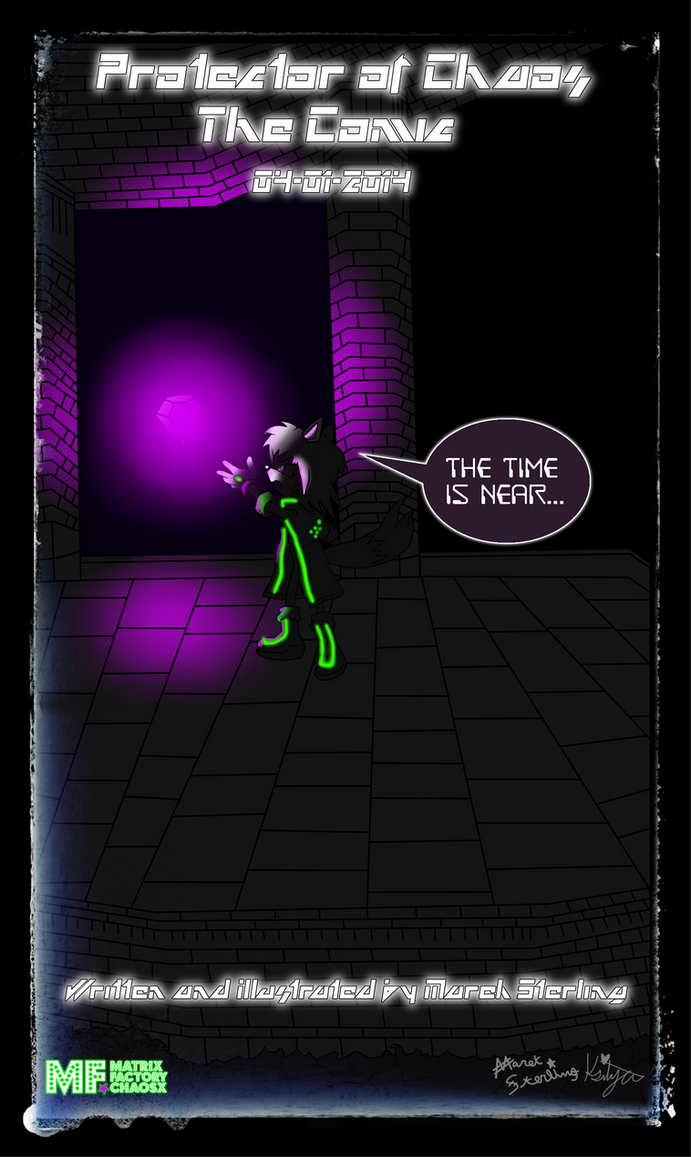 POC: The Comic [TEASER] by MarekSterling