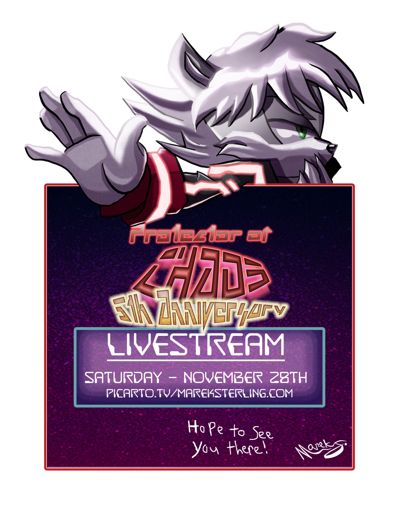 POC 5th Anniversary [Livestream Notice] by MarekSterling