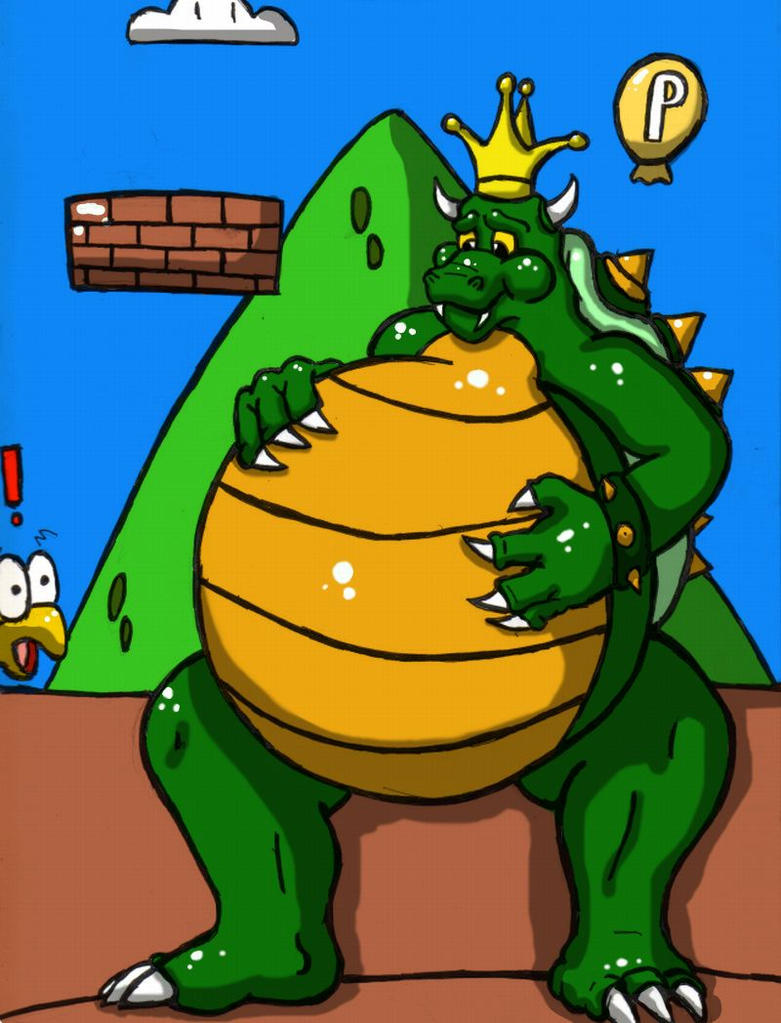 king koopa finished by Lavawolf