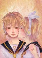 VL: Kagamine Rin y Len by neelyA