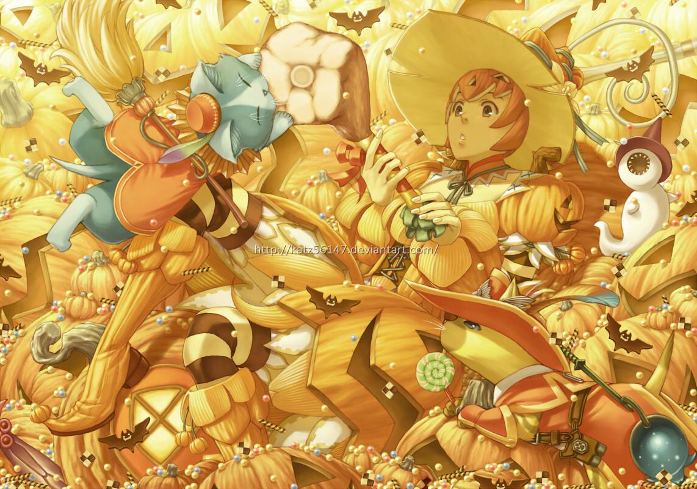 Pepipo Pumpkins by katz56147
