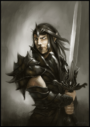 Black knight by Emkun