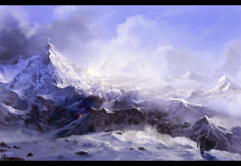 Fantasy environment by Emkun