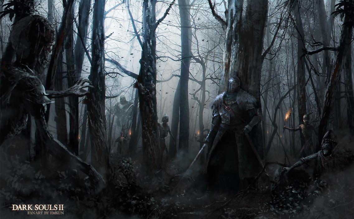 Artwork Dark Souls Ii Wallpaper: Dark Souls 2 Fan Art By Emkun On DeviantArt