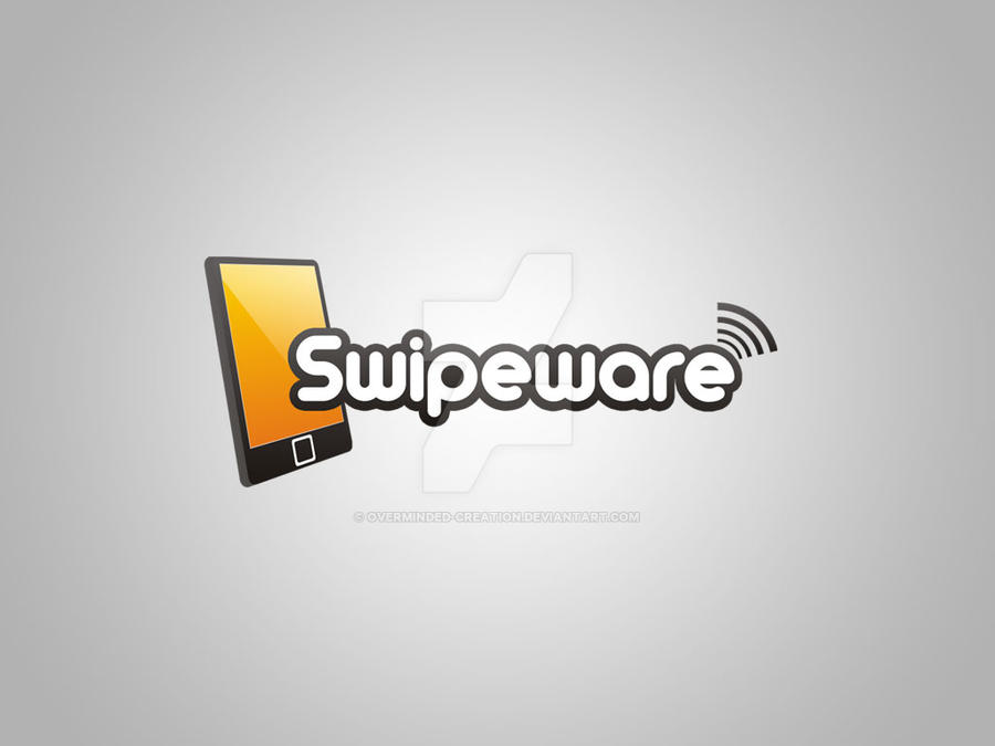 Swipeware business logo by overminded-creation
