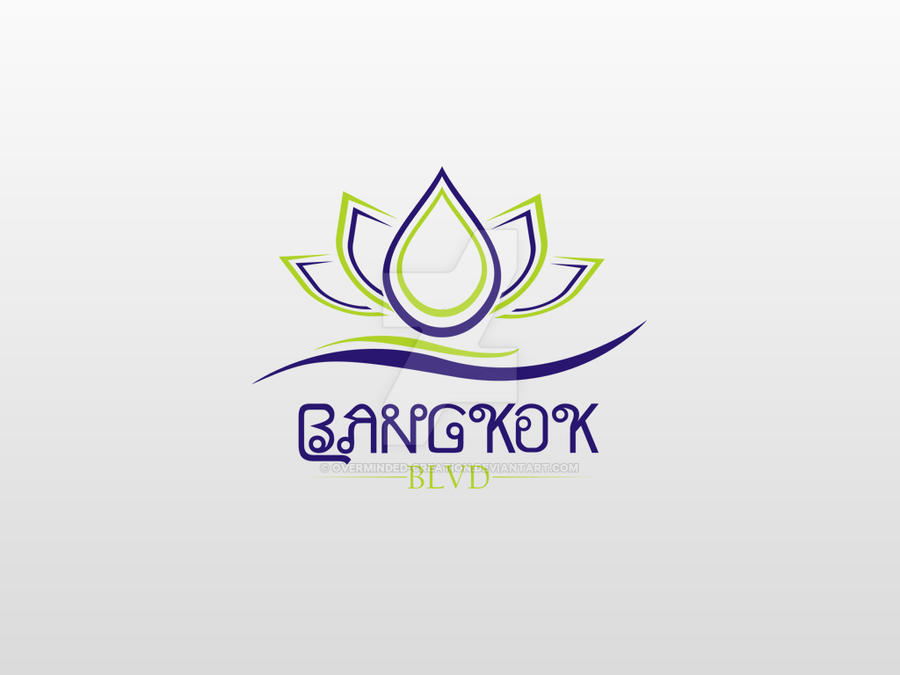 Bankok Blvd business logo by overminded-creation