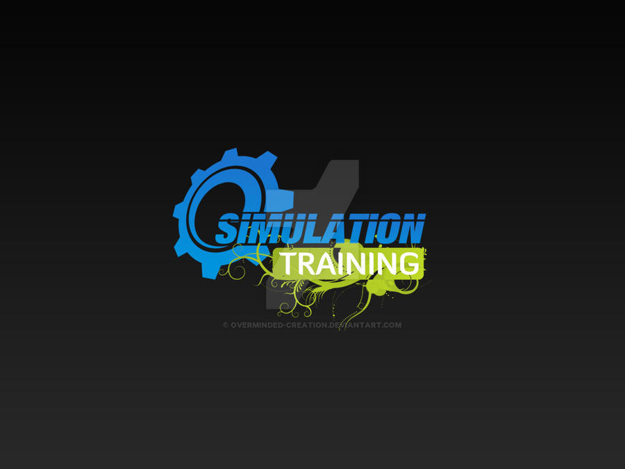 Simulation Training Company Logo by overminded-creation