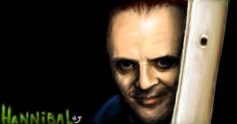 Hannibal Lecter by bulo4ka
