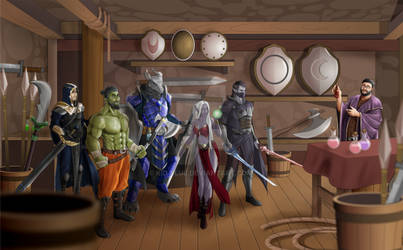 [C] DnD group 5