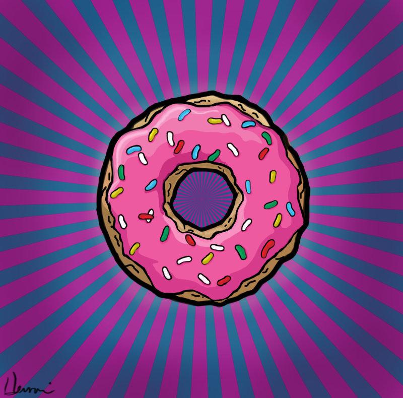 Рисунок пончики вкуснейшие - 9912